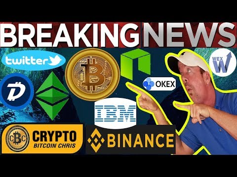 BTC $8800 on WEX! Malta & OKEx: list Crypto Securities! -Binance BNB Discount Reduced! BTC Vol +100%