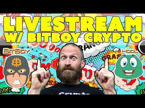 BitBoy Crypto Livestream – What's Going on with Cryptocurrency???