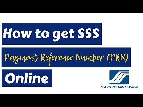 How to get SSS Payment Reference Number (PRN) Online