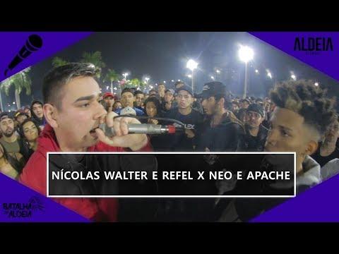 Nicolas Walter e Refel x Neo e Apaxi | SEGUNDA FASE | 103ª Batalha da Aldeia | Barueri | SP