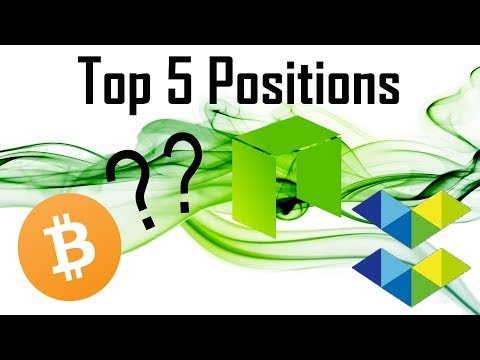 Top 5 Positions: $BTC $NEO $ELA and more