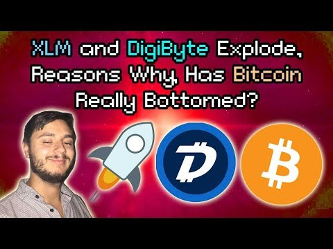 XLM & DigiByte TAKE OFF | Bitcoin Holding | Crypto Bottom HAS BEEN HIT says Silbert