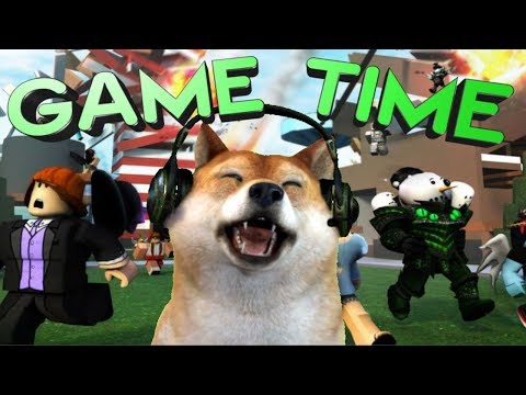 "Roblox Game Time !!""?Doge!?!!"""