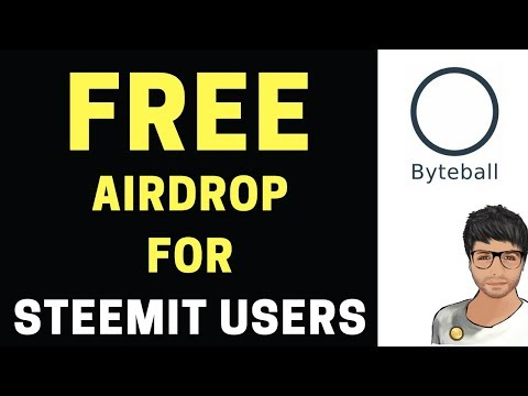 Byteball Airdrop for Steemit Users – Instructions in Hindi/Urdu