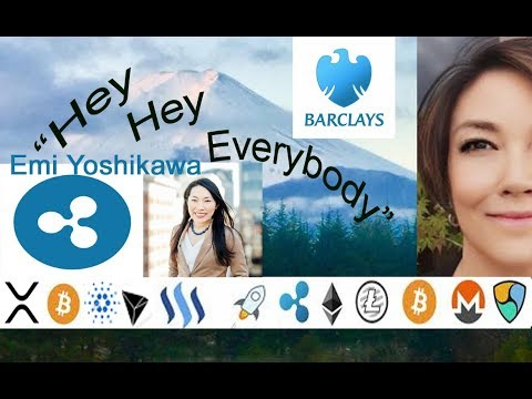 Barclays Bank Crypto Patent, Ripple Emi Yoshikawa Distributed2018, Top Blockchain AI IoT Influencers