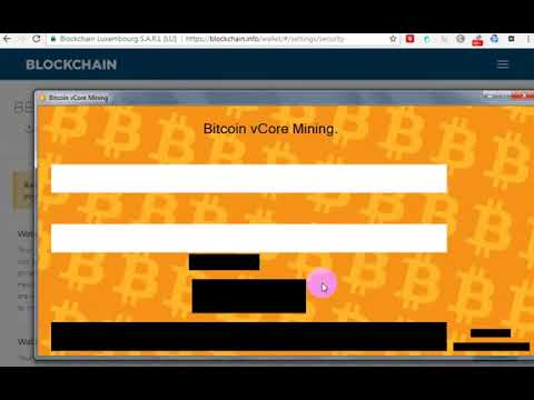 Bitcoin Mining vCore Software Download and Earnings  Bitcoin Mining earnings
