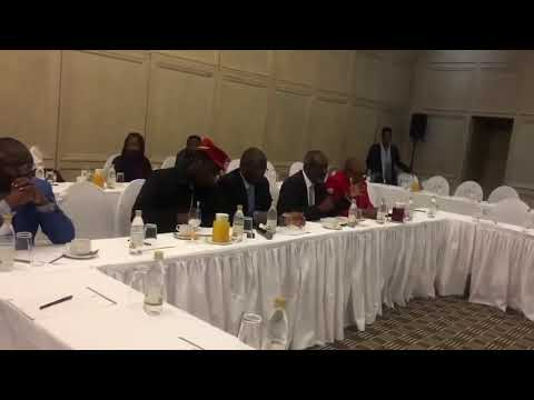 Nkosana Moyo Gives Testimony To Kofi Annan And The Elders Over ZEC And Elections