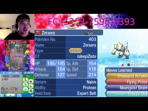 Showcasing Hacked Pokemon: PERFECT 4 move coverage! The Zeraora Protean Proposition!
