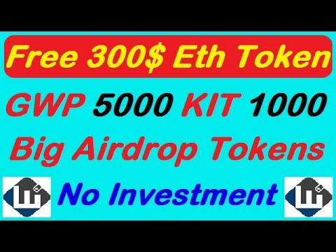 Airdrop GO Wallet Project 5000 GWP, KIT 1000 Token,Free Token New airdrop, Earn with gr fast