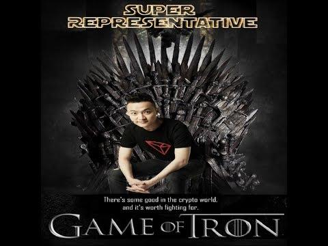 TRON (TRX) Community Has Made Justin Sun Super Representative!