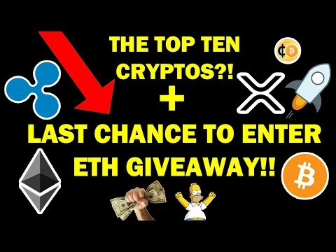 COULD THIS BE A TOP 10 CRYPTO?! $XRP $XLM $BTC + LAST CHANCE FOR $100 ETH GIVEAWAY!