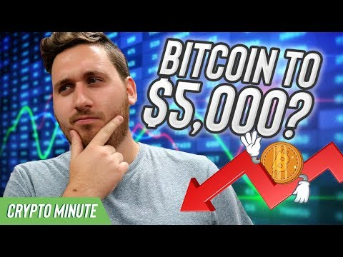 Could Bitcoin Fall to $5,000? (CryptoCurrency Bitcoin Price Predictions)