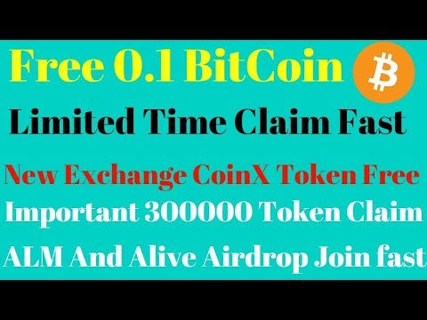 Important 300000 Token Claim | CoinX Exchange ,All Mall And Alive New Airdrop  | Best Earning Tips