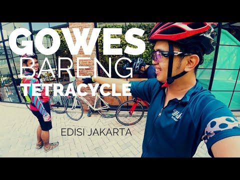 Gowes Minggu Pagi  Bareng Tetracycle ada Strrattos, Trek, Helios | Road Bike Cycling Vlog
