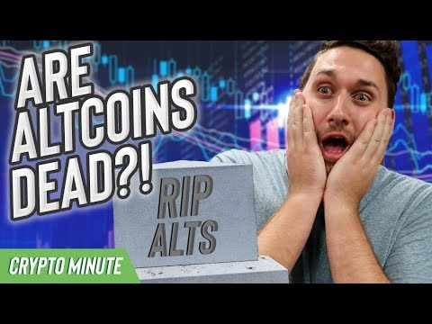Are Altcoins Dead? (CryptoCurrency Altcoin Dominance)