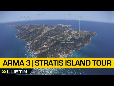 Arma 3 Beginners Guide | Stratis Island Air Tour (beta)