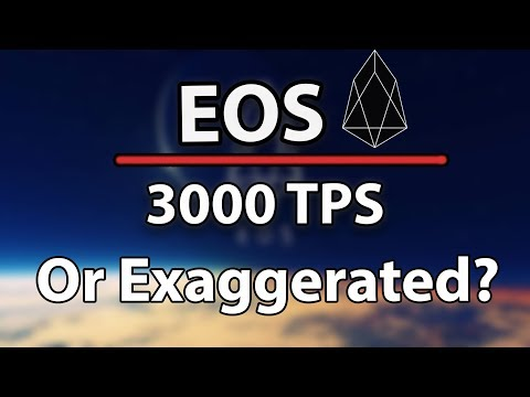 EOS Now The FASTEST Network, Faster Than Visa? Or Is It Exaggerated?!