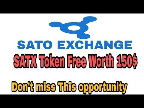 Satoexchange Big Airdrop 150$ Free Token