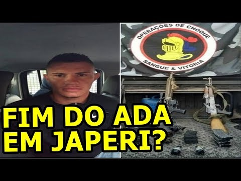 BRENO LÍDER ADA JAPERI É PRESO PELO CHOQUE