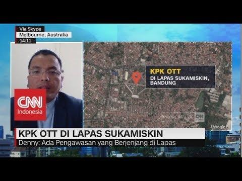 Kepala Lapas Sukamiskin Kena OTT KPK, Denny: Ada Penyimpangan SOP yang Dilakukan