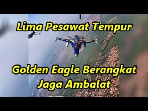 Mencekam!! Lima Pesawat Tempur Golden Eagle Berangkat Jaga Ambalat.. Wah Ada Apa Ya..??