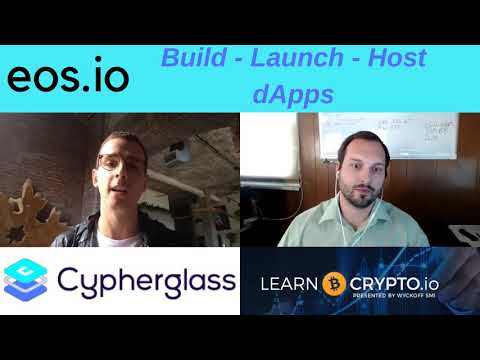 EOS Block Producer Interview with ROB Finch CEO of Cypherglass!
