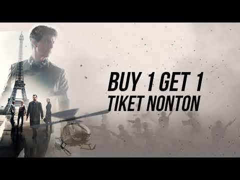 TIX ID x DANA: Buy 1 Get 1 Movie Ticket