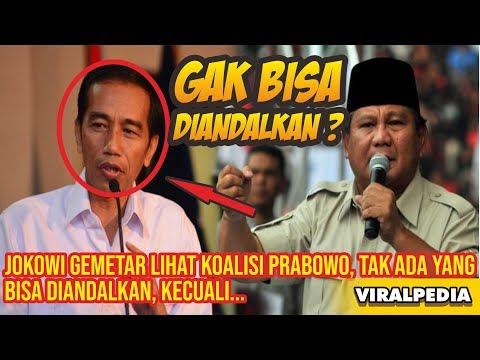 Jokowi Gemetar Lihat Koalisi Prabowo, Tak Ada yang Bisa Diandalkan Kecuali – VIRALPEDIA
