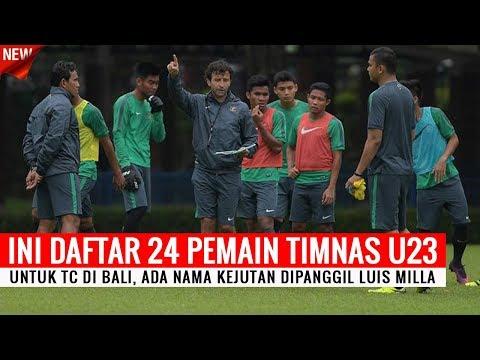 Ada Nama Kejutan, Ini Daftar 24 Pemain Timnas Indonesia U23 Untuk TC di Bali