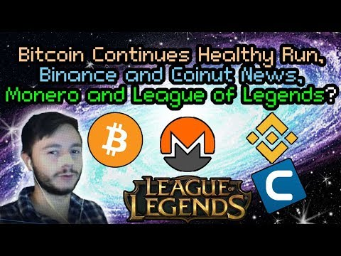 Bitcoins Next Move? | Monero and League? | Litecoin Bouncing | Binance and Coinut Exchanges