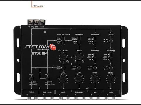 Crossover Stetsom STX 84 como funciona