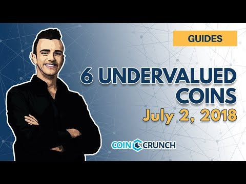 6 Most Undervalued Coins Right Now – Best Discount Buys (July 2018)