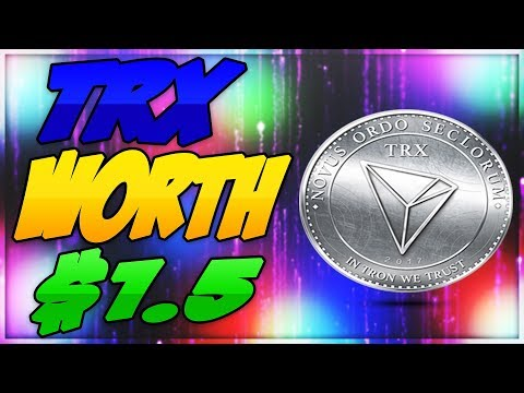 [TRX] TRON WILL HIT $1,5 – NEW INFORMATION (Price Prediction) [MUST WATCH]