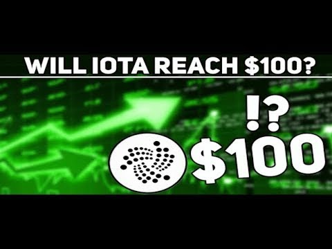 IOTA Price Prediction and Analyisis! $100 in 2019??