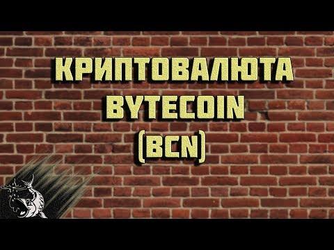 Криптовалюта Bytecoin – обзор.