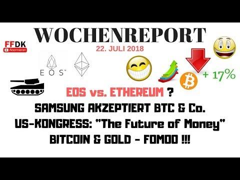 💀EOS vs ETHEREUM – SAMSUNG akzeptiert Bitcoin & Co – Listet CMC nun ShitCoins?