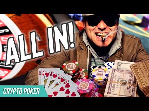 GOING ALL IN! – CryptoCurrency Poker – Pot Limit Omaha Tournament