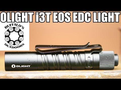 OLIGHT i3T EOS EDC LIGHT – I saw the light