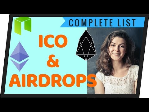 Free EOS Airdrop List (with Calendar & Spreadsheet) – How To Receive Free Airdrops.
