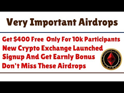 Very Important Airdrops | Get $400 Free Coins | Only For 10k Participants | Join Fast
