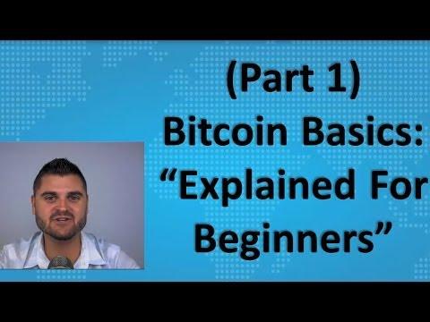 "Bitcoin Basics (Part 1) – ""Explained For Beginners"""