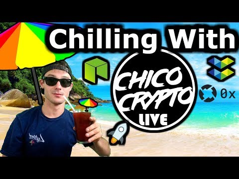 Chico Crypto Live | Fortnite and Crypto? | Baseball Cards On Eth | NEO Forbes China | $ELA $MDX $ZRX