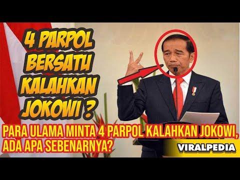 Heboh! Para Ulama Minta 4 Parpol Bersatu Kalahkan Jokowi di Pilpres, Ada Apa Sebenarnya – VIRALPEDIA
