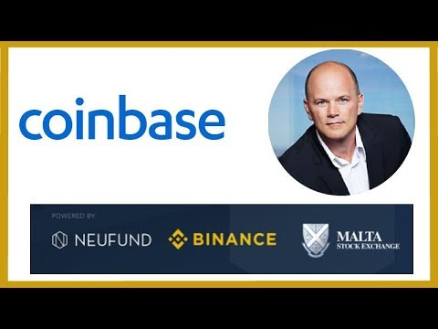 Coinbase Forms PAC – Mike Novogratz Institutional Money – Binance Malta Crypto Stock Exchange