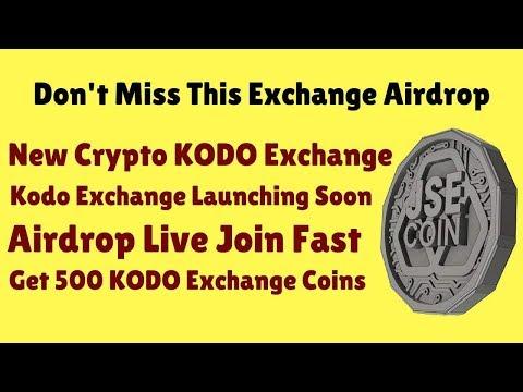 KODO Exchange | Get 500 KODO Exchange Coins Free