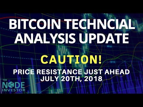 Technical Analysis Update for Bitcoin July 23rd | Plus ETH, NEO, EOS