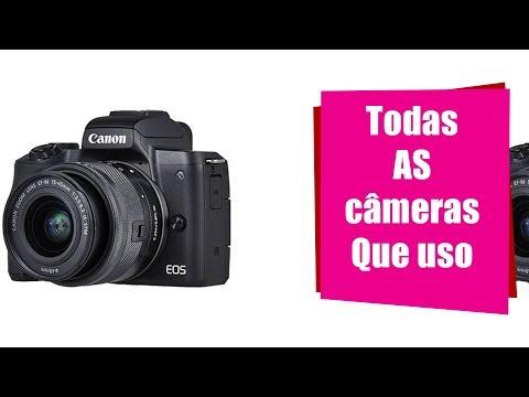 COMPREI A CANON EOS M50 + EQUIPAMENTOS QUE USO PARA GRAVAR  – Canal da Joaninha