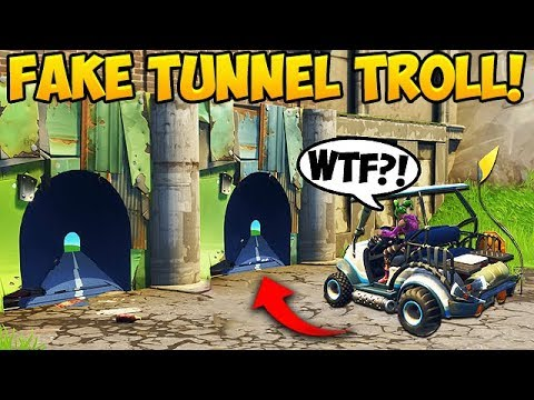 NEW FAKE TUNNEL TROLL! – Fortnite Funny Fails and WTF Moments! #266 (Daily Moments)