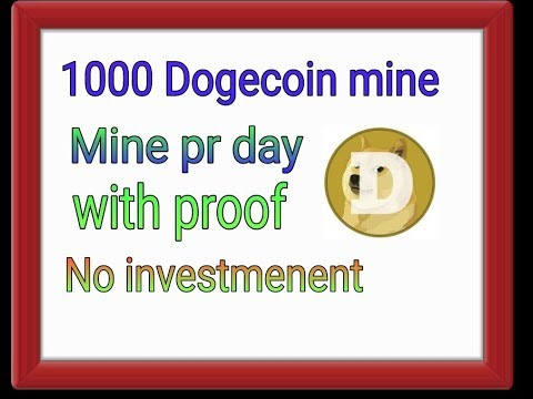 Earn unlimited Dogecoin free-No investmenent-Fast mining
