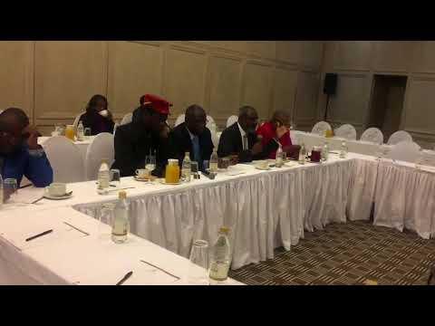 Nkosana Moyo speaks to Kofi Annan and the Elders on ZEC & Elections